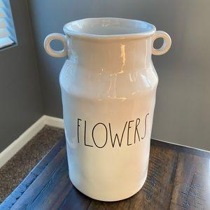 Rae Dunn • FLOWERS vase